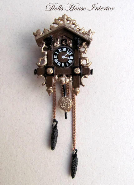 Detailed Cuckoo Clock
