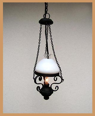 Black Parafin Lamp