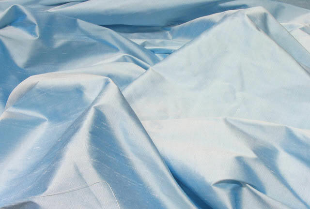 Ice Blue Silk