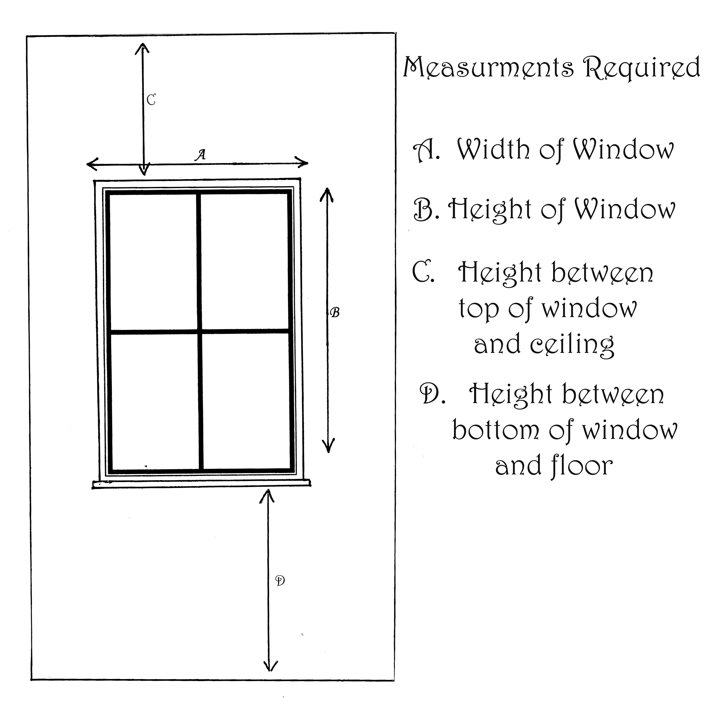 How to how to measure windows for curtains : How to measure for your Curtains