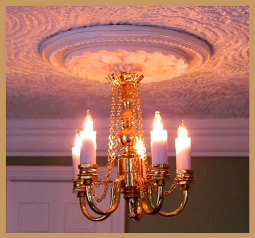 5 Arm Chandelier