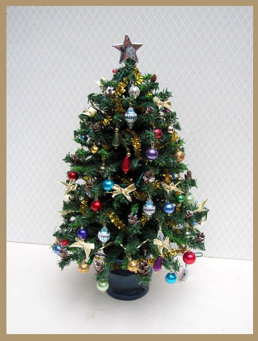 tree 1 - Miniature Christmas Decorations Uk